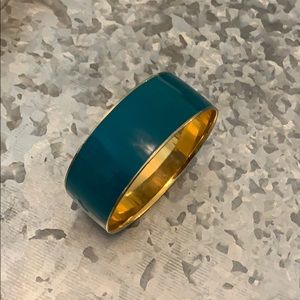 J.Crew bangle in dark teal